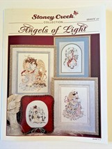 Stoney Creek Collection ANGELS of LIGHT Cross Stitch Patterns Book 127 1994  - $4.99