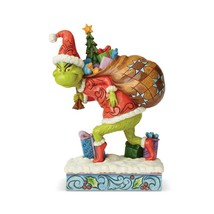 """Grinch Tip Toeing Jim Shore Grinch Collection Figurine 7.75"""" High"""