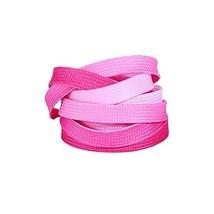 East Majik Fashion Gradient Pink Athletic Shoelaces Replacement Shoelaces - $14.26