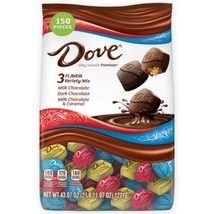 Dove Promises Variety Mix Chocolate Candy 43.07-Oz 150-Piece Bag NEW EXPEDITED - $24.74