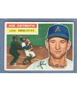 VINTAGE MLB 1956 TOPPS #106 JOE ASTROTH (WB) VG-EX  - $10.75