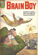(CB-52) 1963 Dell Comic Book: Brain Boy #5 - $40.00