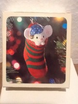 Hallmark Keepsake Ornament - The Stocking Mouse - 1981 - QX412-2 - $11.95