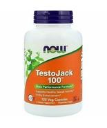TestoJack 100 Male Performance Formula - 120 Vegan Capsules - $35.12