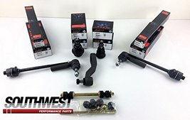 A-Team Performance Upper and Lower Ball Joints Tie Rod Idler Arm Sway Bar Link K