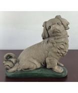Vintage Hairy Dog Sculpture - $14.03