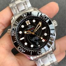 Omega 007 Men's Luxury Brand Automatic Mechanical Watch Classic Men Watch - $450.00