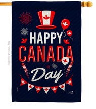 Canada Day - Impressions Decorative House Flag H137260-BO - $40.97