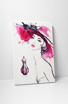 """Perfume and a Hat Fashion Art Gallery Wrapped Canvas Print. 30""""x20"""" or 20""""x16"""" - $42.52+"""