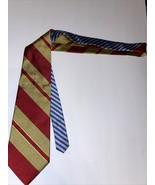 Vintage 80s Tommy Hilfiger Tie Logo Multi Colored Striped - $29.68