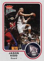 Jason Kidd Fleer Platinum 02-03 #75 New Jersey Nets Phoenix Sun Dallas M... - $0.50