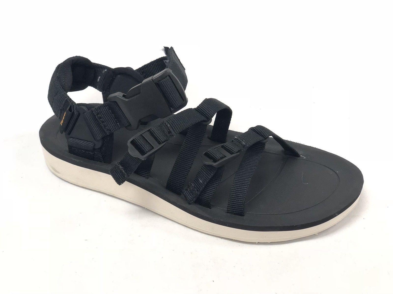 TEVA TORIN 6584 Black Ankle Strap Sport Hiking Water Sandals Mens Size 12