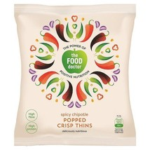 The Food Doctor Spicy Chipotle Corn & Soy Crisp Thins 23g - $2.53