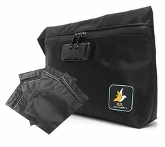 KUR Smell Proof Bag w/Lock +4 Mylar bags Waterproof Case Odorless Storag... - $26.72