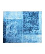 Barrel Destry Arab Blue Designs Printed Handloom Tufted 100% Woolen Rugs  - $272.25+