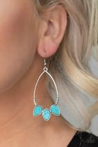 Paparazzi Jewelry Earrings Fierce Frontier Multi Colored Earrings - $4.50