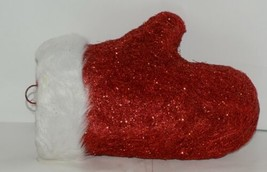 Hanna's Handiworks 63202 Red Glittery Santa Glove Wall Hanger image 2