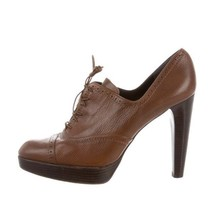 Stuart Weitzman Women's Wingtip Oxford Heels Sz. 6.5  Booties - $155.00