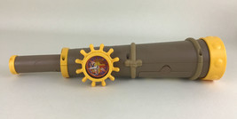 Jake Neverland Pirates Spyglass Treasure Telescope Disney Jr Compass Map Toy - $19.55