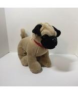 "Pug Dog with Collar Plush Stuffed Animal Build a Bear 11"" - $14.50"