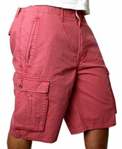 Levi's Men's Cotton Cargo Shorts Original Relaxed Fit Pink 12463-0037 image 2