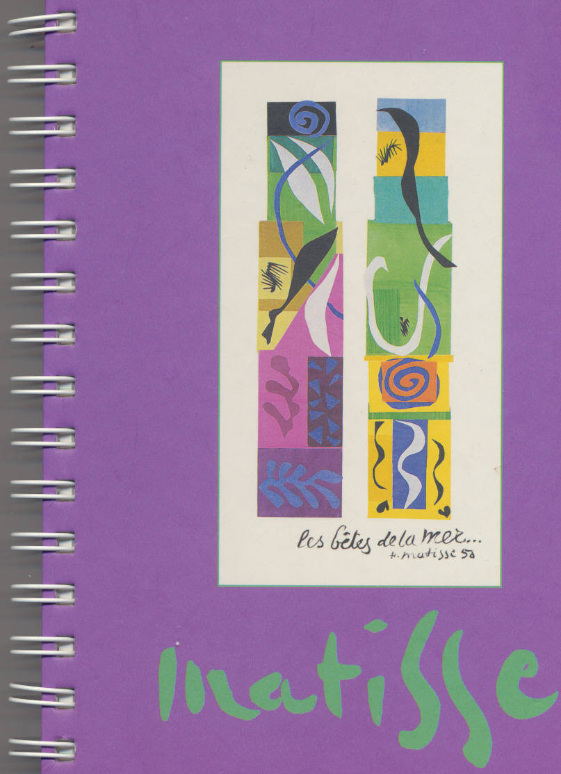 MATISSE Journal Notebook Purple Galison NY
