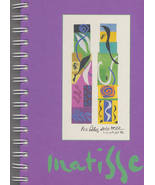 MATISSE Journal Notebook Purple Galison NY - $8.50