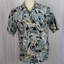 Cooke Street Honolulu 100% Cotton Floral Camp Aloha Hawaiian Shirt Men S... - $24.75
