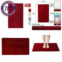 """Qltyfrst Bathroom Rugs Non-Skid 100% Premium Cotton 1900 Gsm Size 21""""X34... - $22.04"""