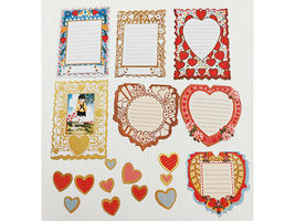 """SEI """"Think of Me"""" Die-Cut Accents, 29 Pieces, Scrapbooking, Cards, Journaling image 4"""