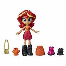 My Little Pony Equestria Girls Fashion Squad Sunset Shimmer, 3-Inch Poti... - $8.86
