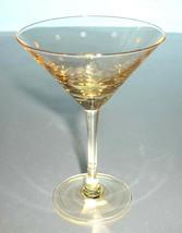 Kate Spade Larabee Dot Pop Topaz Yellow Martini Mini Tini Glass New - $28.90