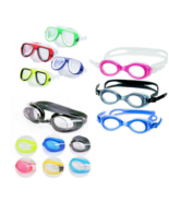 Pool Swimming Goggles Boys Girls Men Women Colors Styles Sets - $6.92+