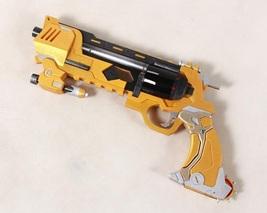 Overwatch McCree Skin Blackwatch Weapon Golden Peacekeeper Cosplay Gun Prop Buy - $140.00