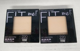 Set of 2: Maybelline Fit Me Set + Smooth Powder 220 Natural Beige - $14.11