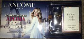 Miniature 4ml l eau de parfum la vie est belle lancôme. Lancome Glow Box !!! - $21.78