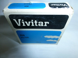 Vivitar 46mm  80A Coated Filter MADE IN JAPAN old stock new 46 - $9.46