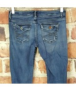 Aeropostale Womens Chelsea Boot Cut Jeans Size 3/4 Distressed #306 - $13.85