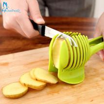 NEW Kitchen Tools Potato Tomato Onion Lemon Vegetable Fruit Slicer Cutte... - $9.21