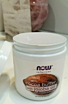 Lot of 2 Cocoa Butter With Jojoba Oil 6.5 oz by Now Foods EXP 05/2020 - $15.76