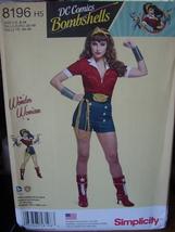 Pattern 8197 DC Comics Wonder Woman sizes 6-14 - $7.99