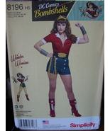 Pattern 8197 DC Comics Wonder Woman sizes 6-14 - $5.99