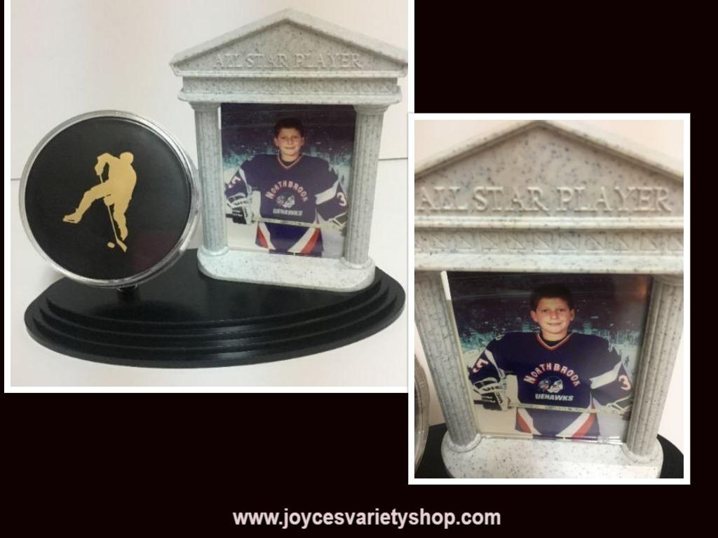 Hockey photo web collage