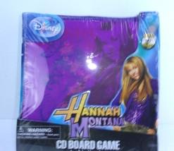 New & Sealed Hannah Montana Disney Cd Board Game Miley Cyrus - $7.36