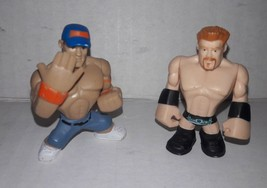 "WWE Rumblers John Cena and Sheamus Mattel 2"" Lot of 2 Figures 2010 - $1.97"