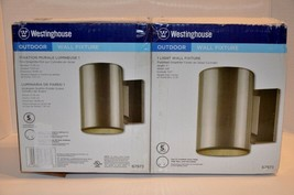 Westinghouse 6797300 Outdoor Wall Fixture Polished Graphite Finish Pack ... - $22.76