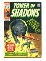 Tower Shadows #6 1970-STEVE DITKO-WALLY WOOD-STAN LEE-FN - $25.22