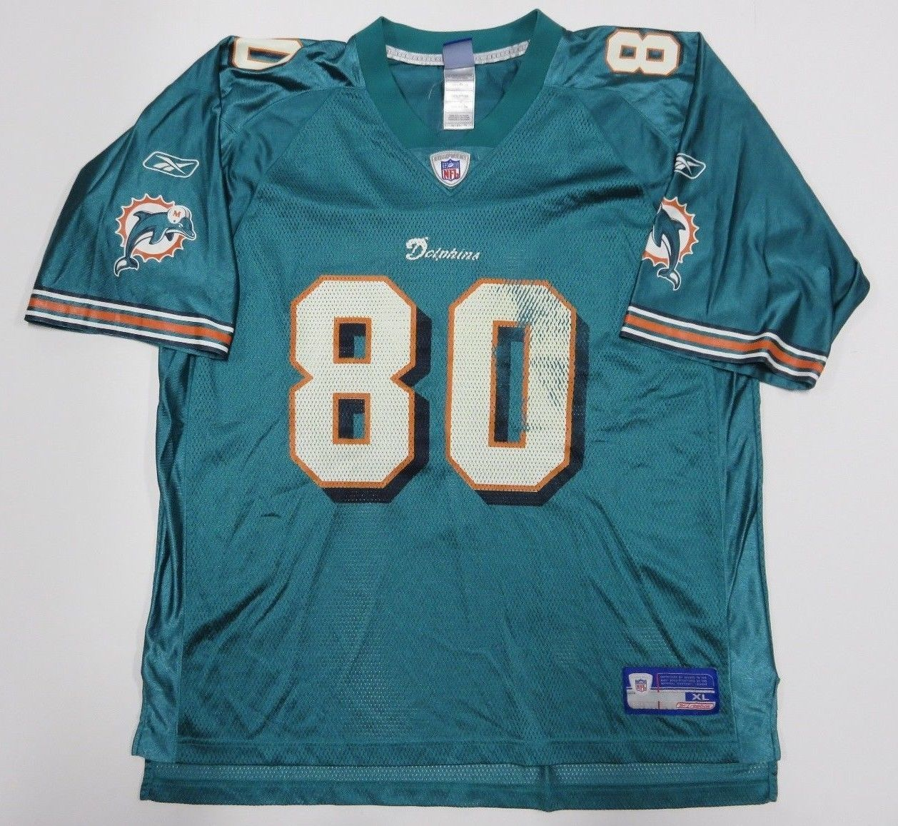 4136bfd15d6 Nfl Reebok David Boston #80 Miami Dolphins and 50 similar items