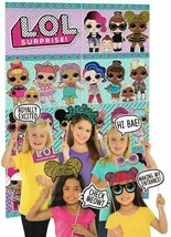 LOL Surprise! Scene Setter Birthday Party Wall Decoration Backdrop ~12 P... - $14.80