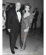 Ernest Borgnine w/ wife Tova - professional celebrity photo 1991 - $6.85